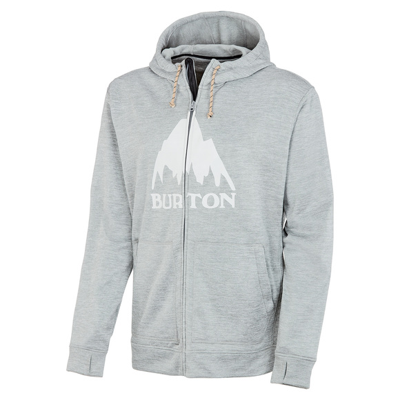 Oak - Men's Full-Zip Hoodie