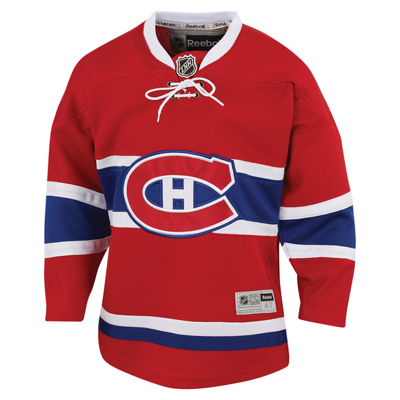 Premier Team - Youth Replica Jersey - Montreal Canadiens (Home)