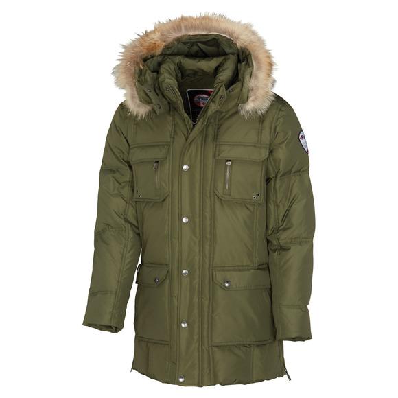 Tyler - Manteau en duvet à capuchon pour homme