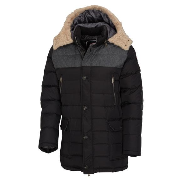 Wade - Manteau à capuchon en duvet pour homme