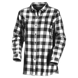 Buffalo Check - Women's Tunic-Style Shirt