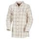 Buffalo Check - Women's Tunic-Style Shirt  - 0