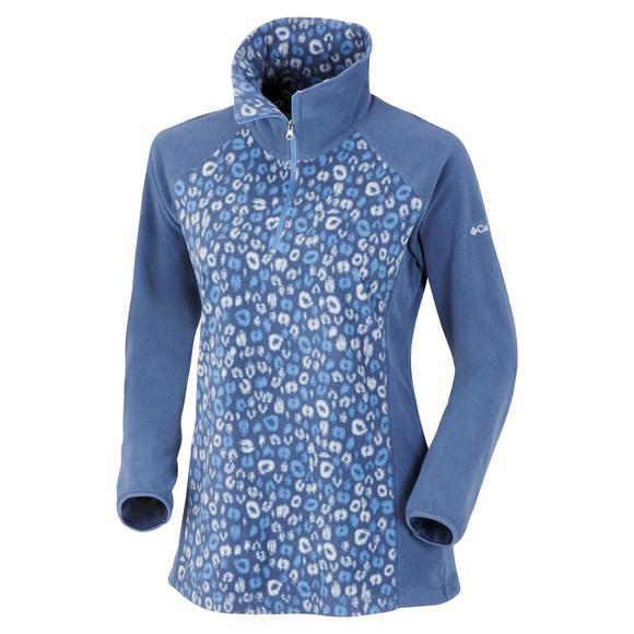 Glacial - Women's Half-zip Fleece Sweater