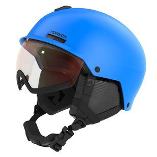 Vijo Jr - Casque de sports d'hiver avec visière intégrée pour junior