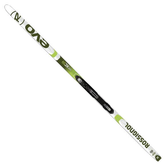 Evo XC 59 Glade Premounted - Skis de fond sans fartage pour adulte