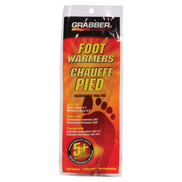 Foot Warmers - Chauffe pieds