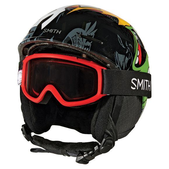 Gambler Jr/Zoom Jr - Winter Sports Helmet And Goggle Combo