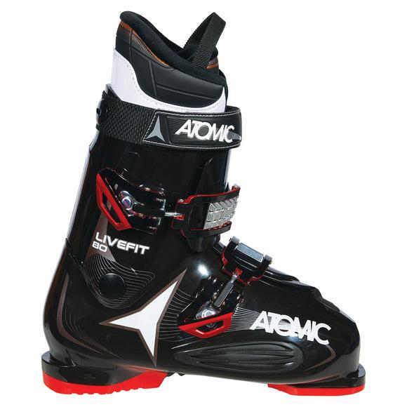Live Fit 80 - Bottes de ski alpin pour homme