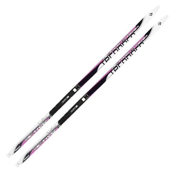 Safine Active 6 Dual Grip - Skis de fond classique pour femme