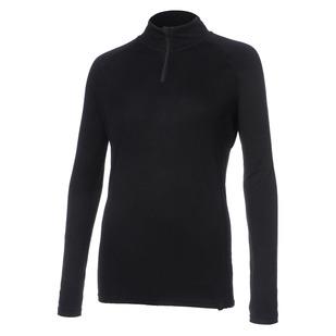 Body 2 - Women's Half-Zip Long-Sleeved Sweater