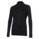 Body 2 - Women's Half-Zip Long-Sleeved Sweater   - 0