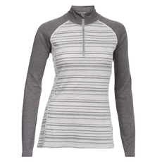 Body 2 - Women's Half-Zip Long-Sleeved Sweater