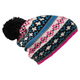 Jacquard - Adult's Knitted Beanie - 0