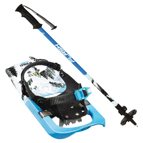Flash Jr - Junior snowshoeing kit