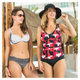 Azura - Women's Swimsuit Top - 2