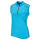 Arrow - Women's sleeveless half-zip cycling jersey - 0