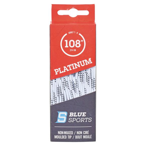 Platinum - Lacets de patins non cirés