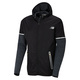 Performance Merino Hybrid - Men's Hooded Running Jacket  - 0