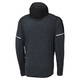 Performance Merino Hybrid - Men's Hooded Running Jacket  - 1