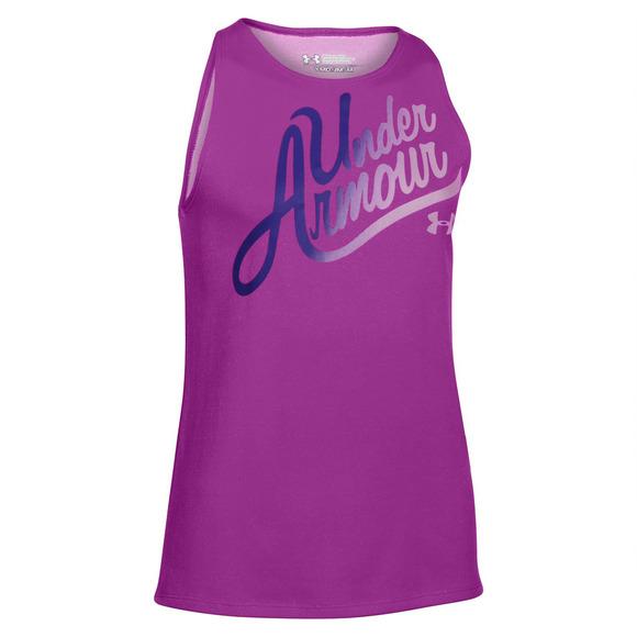 Aloha Wordmark Jr - Jr girls' tank top