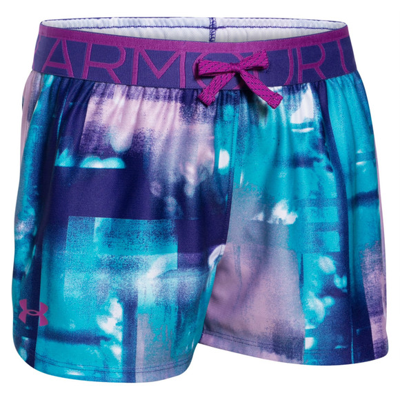 Printed Play Up Jr - Jr girls' shorts