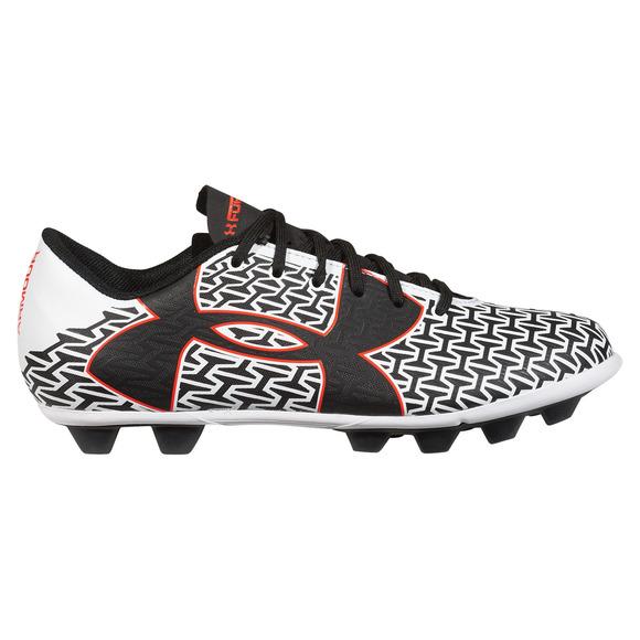 CF Force 2.0 HG Jr - Chaussures de soccer extérieur pour junior