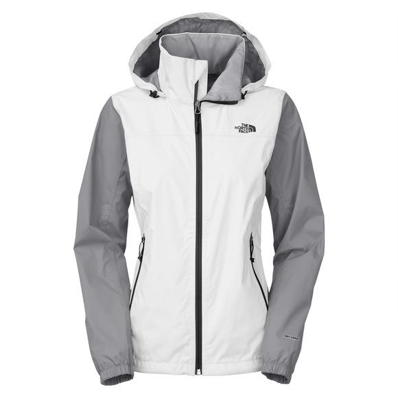 Resolve Plus - Manteau imperméable à capuchon pour femme