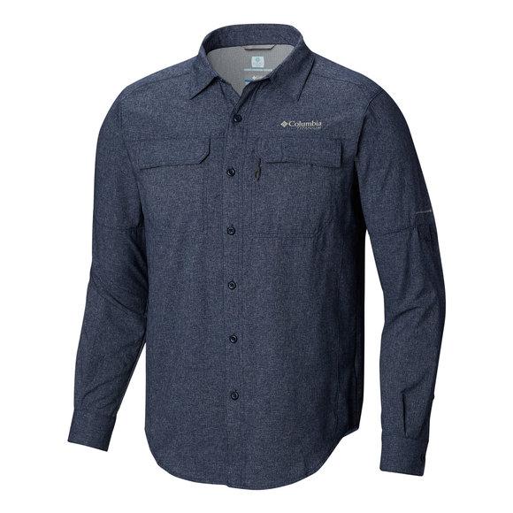952226a641f COLUMBIA-TITANIUM Irico - Men's Long-Sleeved Shirt | Sports Experts