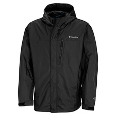 Pouring Adventure - Men's Laminated Hooded Jacket