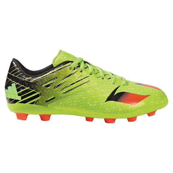 Messi 15.4 FXG Jr - Chaussures de soccer extérieur pour junior