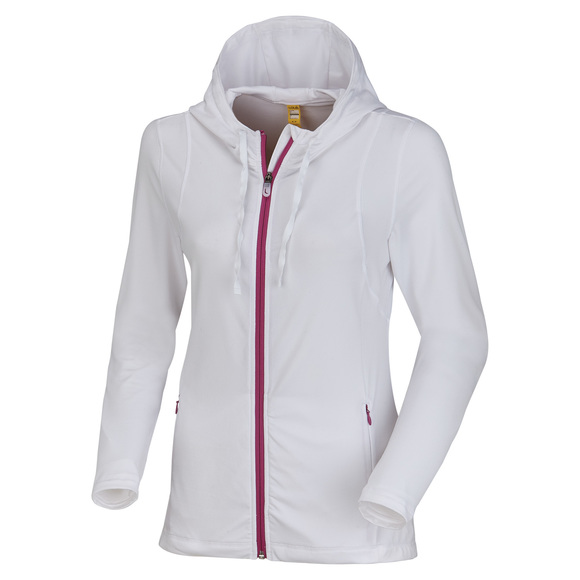 Poised - Women's Full-Zip Hoodie