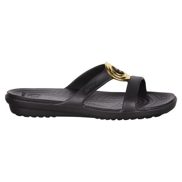 Sanrah Beveled Circle Sandal - Women's Fashion Sandals