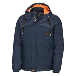 Charger - Manteau isolé à capuchon pour homme