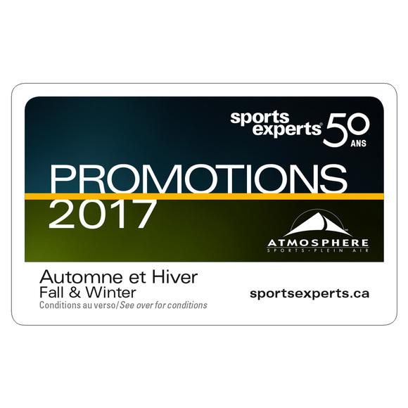 Winter Fashion Promotion Card