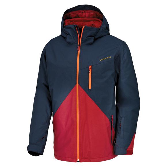 Mission Colorblock - Men's Hooded Jacket