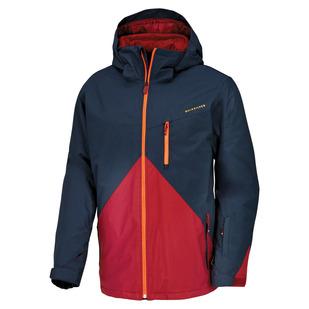 Mission Colorblock - Manteau à capuchon pour homme