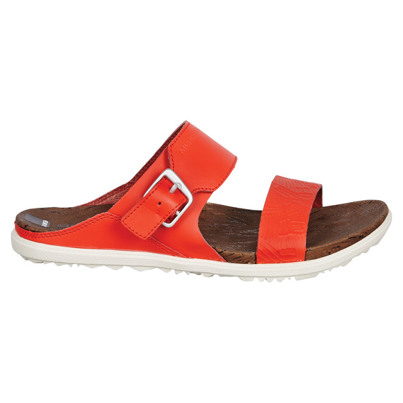 Around Town Buckle Slide Print - Women's Sandals