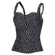 Gold - Simply Dot - Women's Swimsuit Top - 0