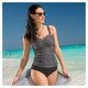 Gold - Simply Dot - Women's Swimsuit Top - 2