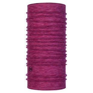 Raspberry Multi Stripes - Adult Merino Wool Tube