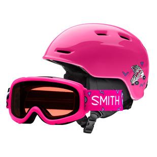 Gambler / Zoom JR. combo - Kids' Winter Sports Helmet and Goggles