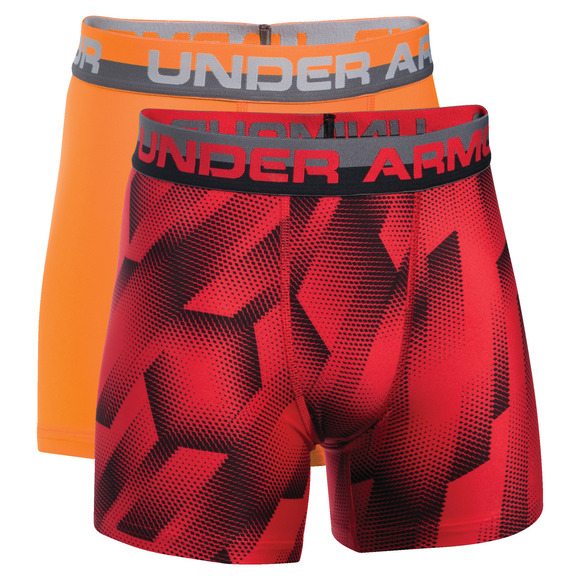 O-Series Novelty Jr - Boys' Fitted Boxer Shorts (Pack of 2)