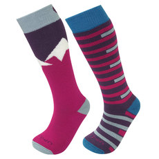 Merino Ski - Junior Cushioned Ski Socks (Pack of 2 Pairs)