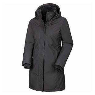 Julia - Manteau isolé à capuchon pour femme