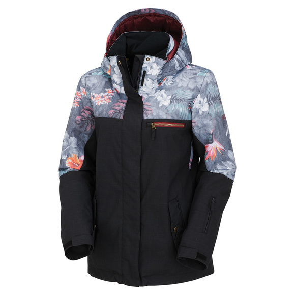 Jetty Block - Women's Hooded Jacket