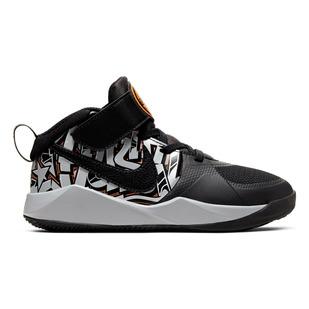 Team Hustle D 9 Graffiti PS - Kids' Basketball Shoes