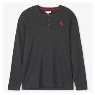 Moose Fair Isle - Men's Pyjamas Long-Sleeved Shirt