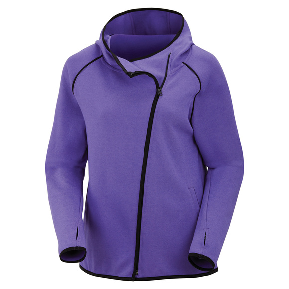 Street To Gym - Women's Full-Zip Hoodie