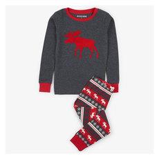 Moose Fair Isle Y - Kids' 2-Piece Pyjamas