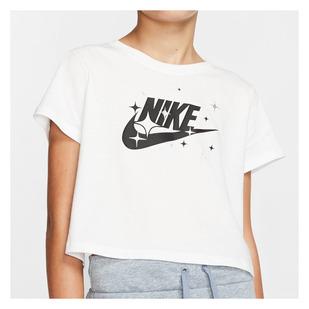 Sportswear Jr - T-shirt écourté pour fille